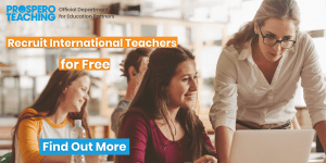 Recruit international teachers for free with Prospero